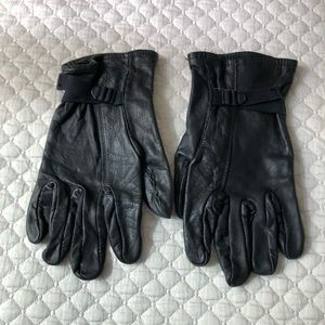 Vintage US Army Leather Glove Shells, sz 4